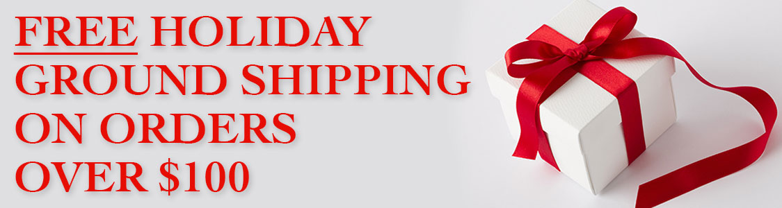 FREE Holiday Ground Shipping on Orders Over $100