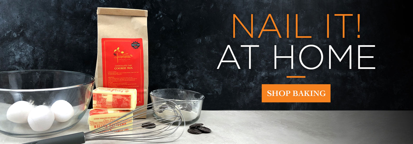 Nail it at Home with Jacques Torres Baking items