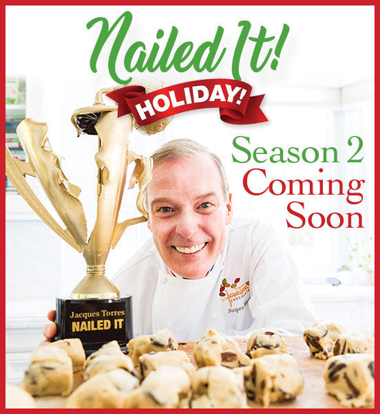 Nailed It Holiday Season 2 with Jacques Torres coming soon
