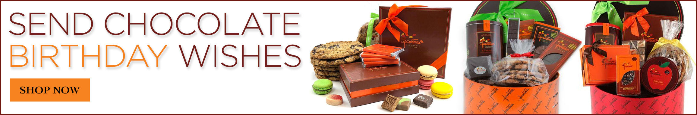 Send Birthday Gifts from Jacques Torres Chocolates