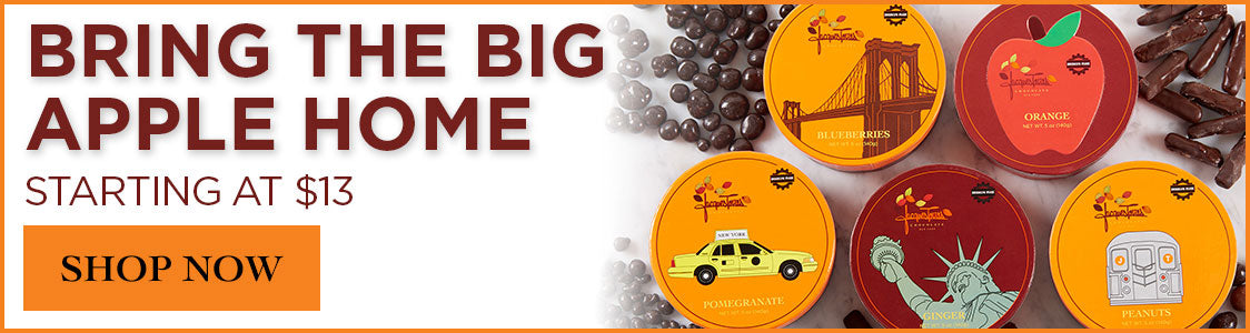 Bring Home the Big Apple Chocolates Starting at $13