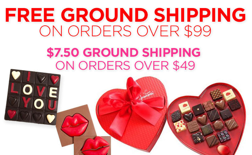Free Ground Shipping orders over $99