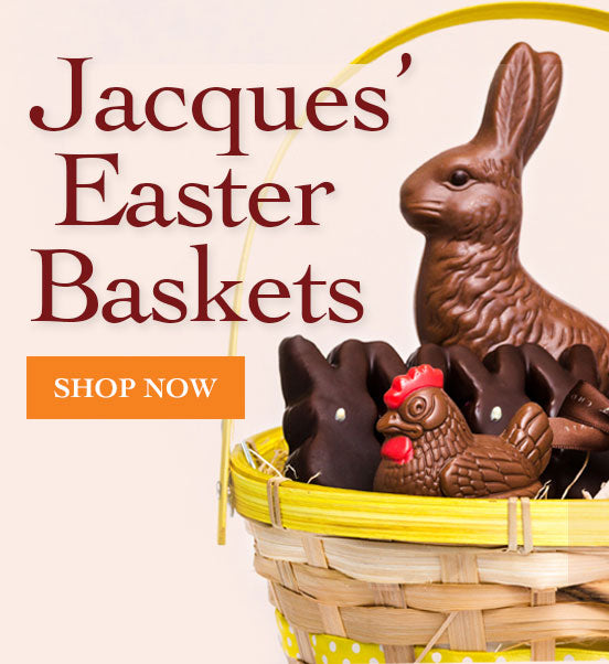 Easter baskets by Jacques Torres Chocolate