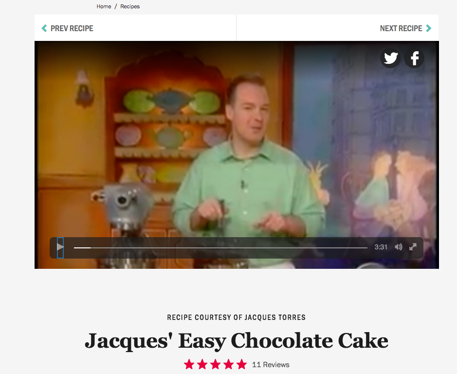 Jacques Torres Cooking At Home