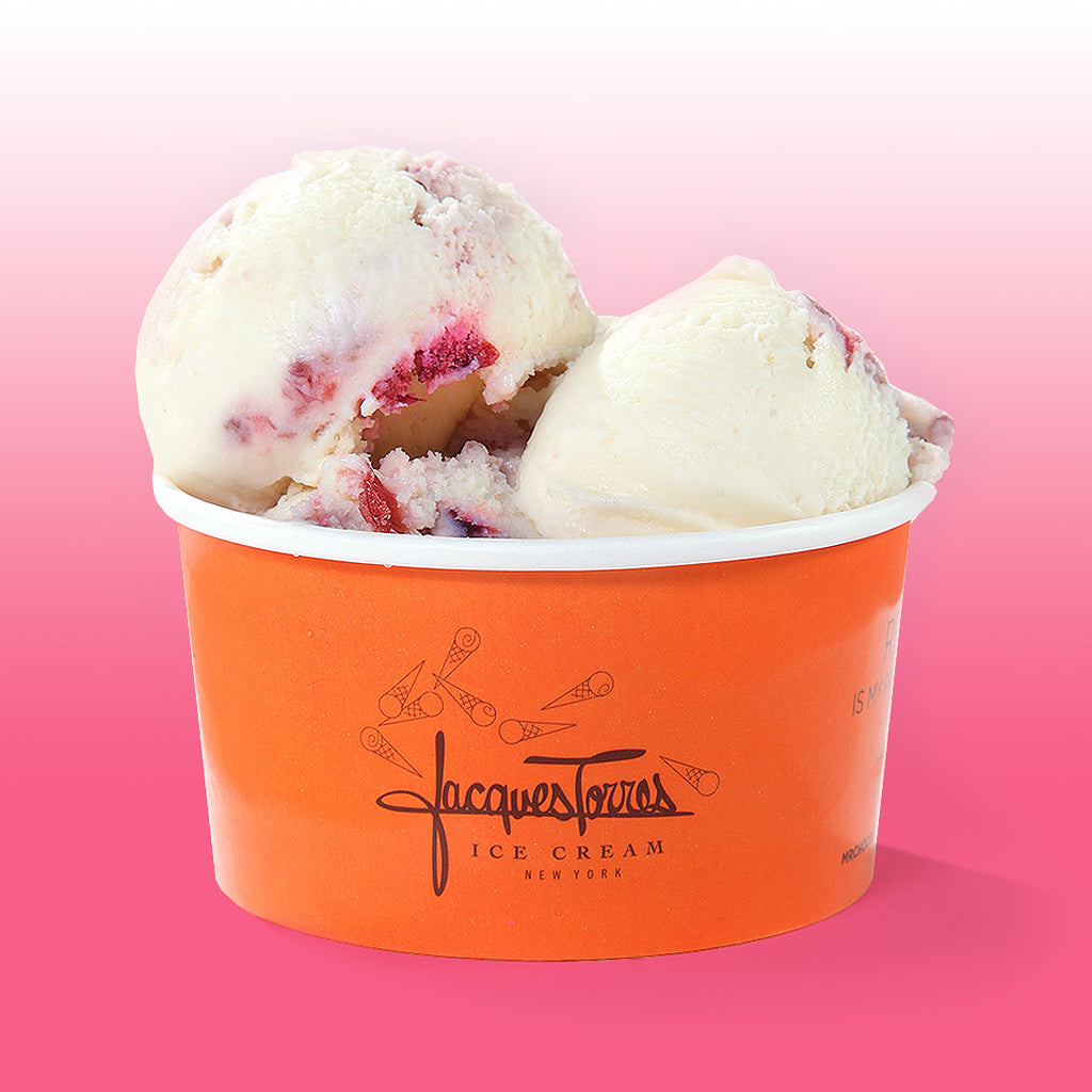Jacques Torres Strawberry Shortcake Ice Cream
