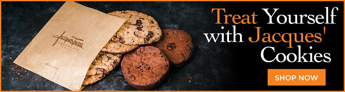 Treat yourself with Jacques' Cookies