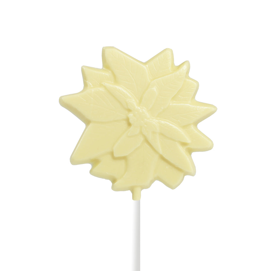 White Chocolate Christmas Lollipops