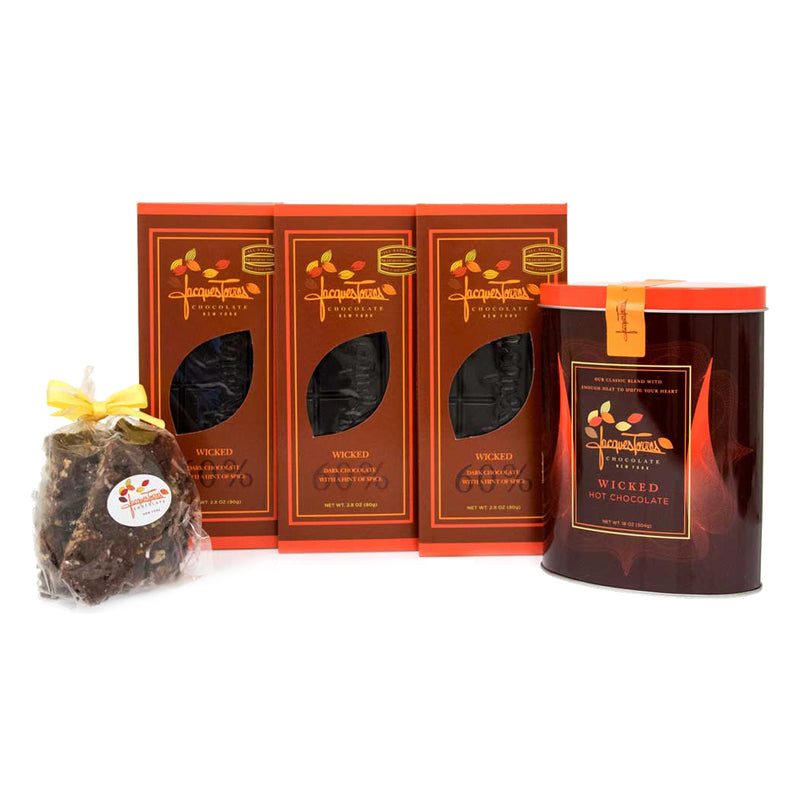 All Things Wicked Chocolate Gift bundle by Jacques Torres