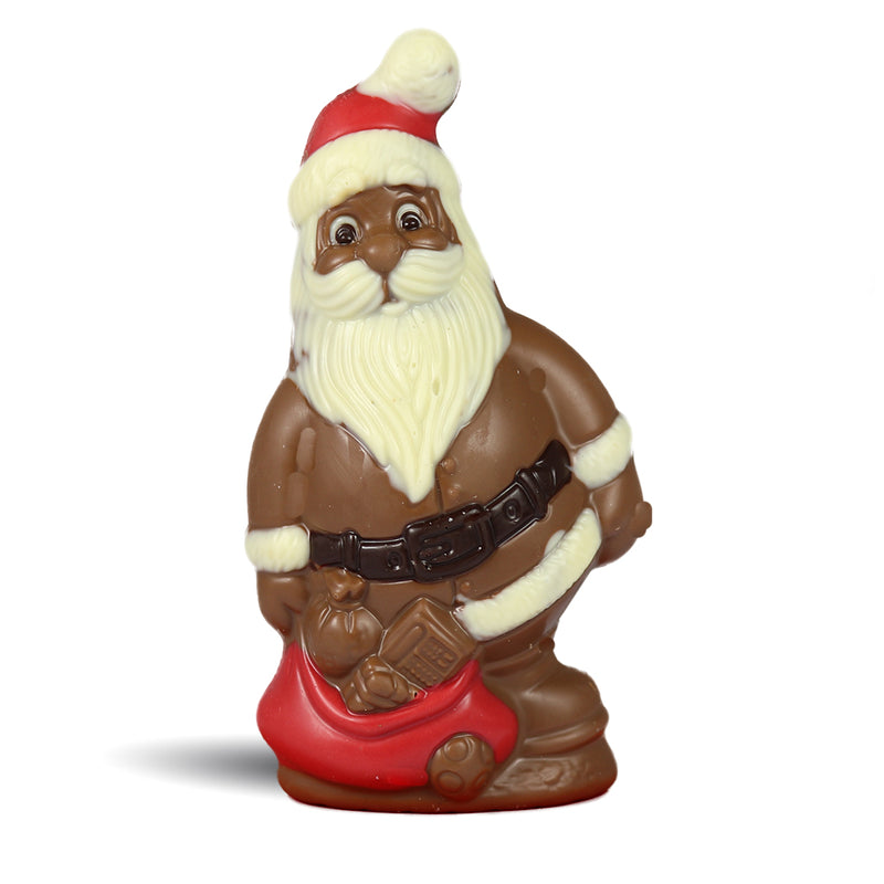 Milk Chocolate Jolly Santa by Jacques Torres