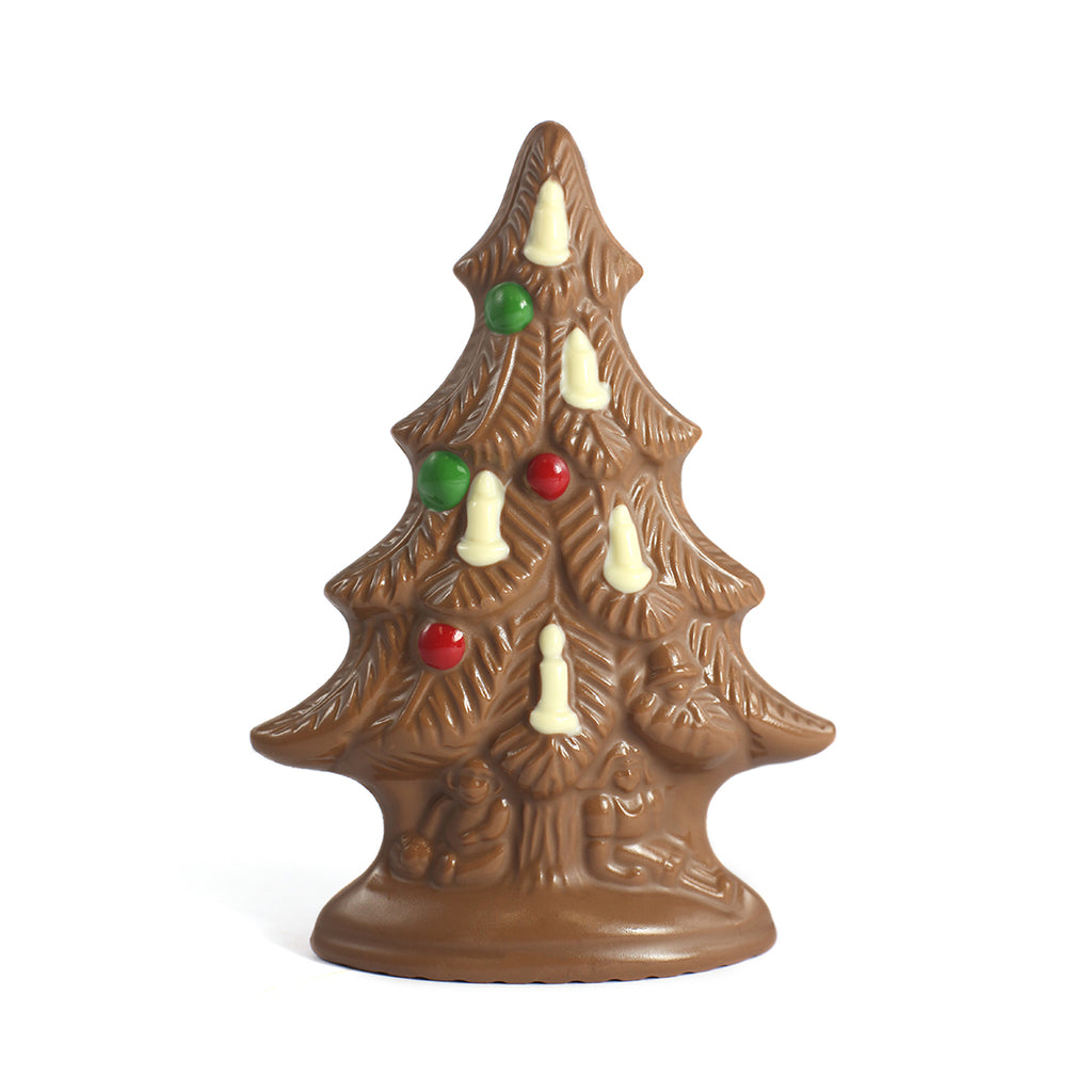 Small Milk Chocolate Christmas Tree by Jacques Torres