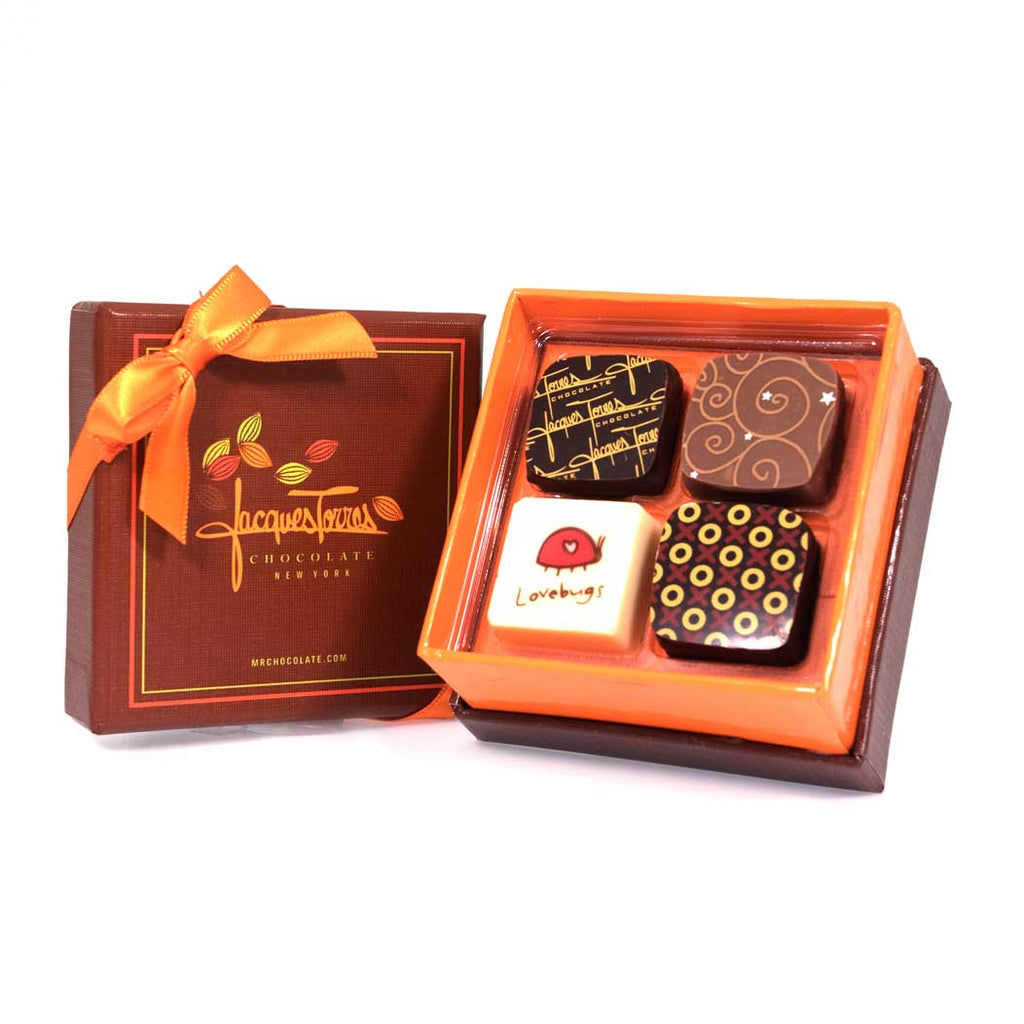 Wedding Favor 4pc 10 Count Jacques Torres Chocolate