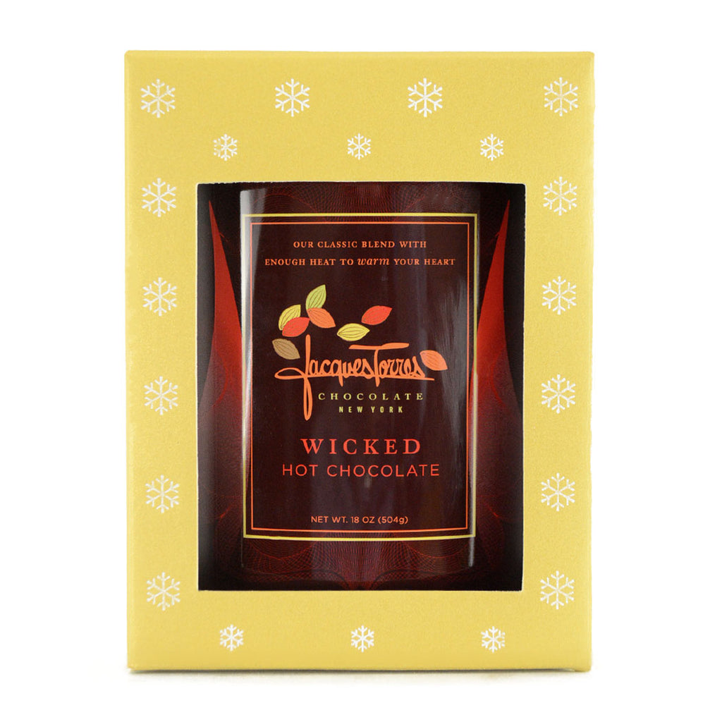 Happy Holidays Hot Chocolate - Wicked by Jacques Torres