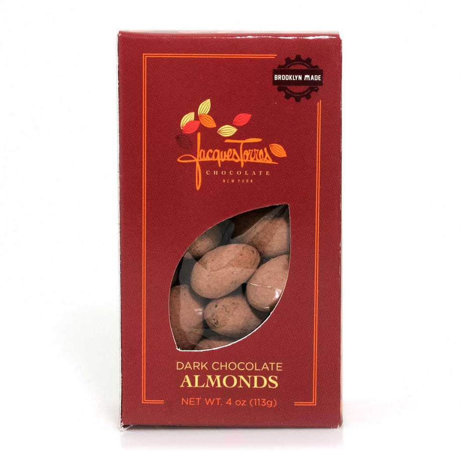 4 oz Dark Chocolate Almonds by Jacques Torres