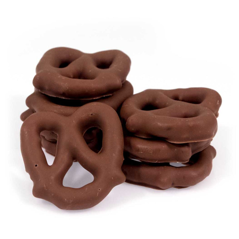 Milk Chocolate Covered Pretzels by Jacques Torres