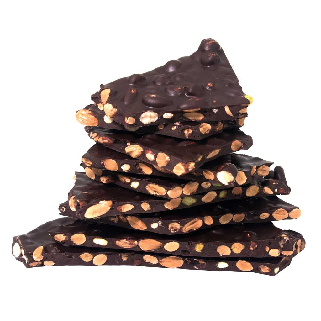 1/4 lb, 1/2 lb and 1 lb Dark Chocolate Bark by Jacques Torres