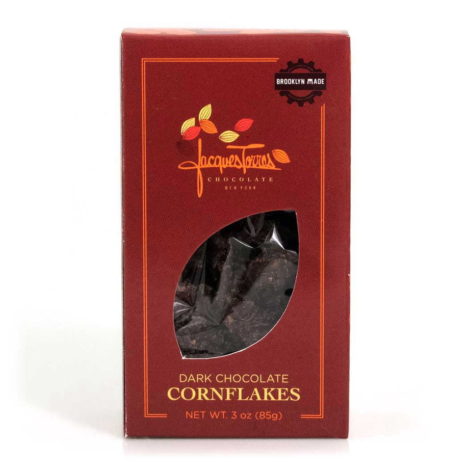 Dark Chocolate Covered Corn Flakes by Jacques Torres