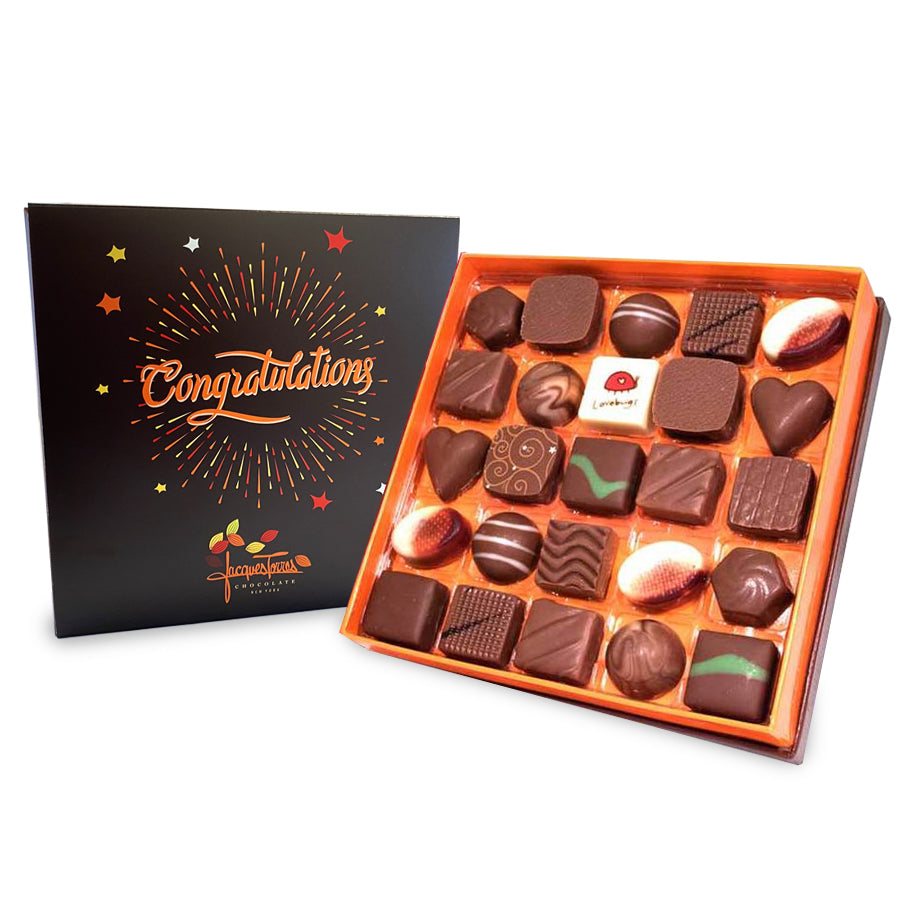 Milk  Chocolates with Congratulations Sleeve by Jacques Torres