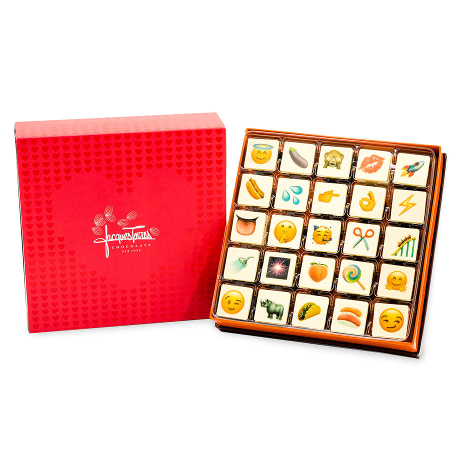 Jacques' Choice Chocolate Emoji Collection - 25 pc
