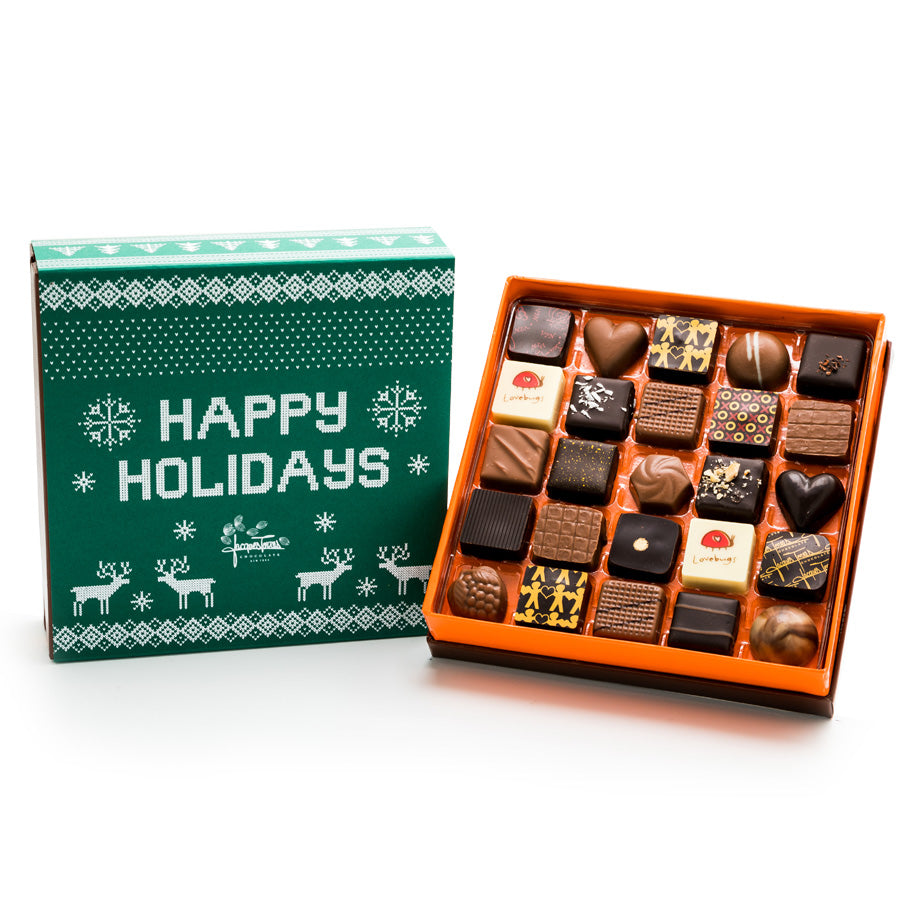 25 pc - Jacques' Choice Happy Holidays BonBons by Jacques Torres