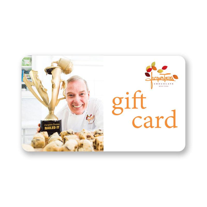 Jacques' Nailed It Gift Card by Jacques Torres