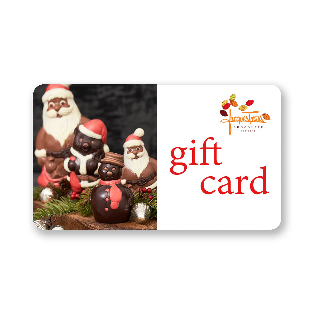 Holiday Gift Card from Jacques Torres Chocolate