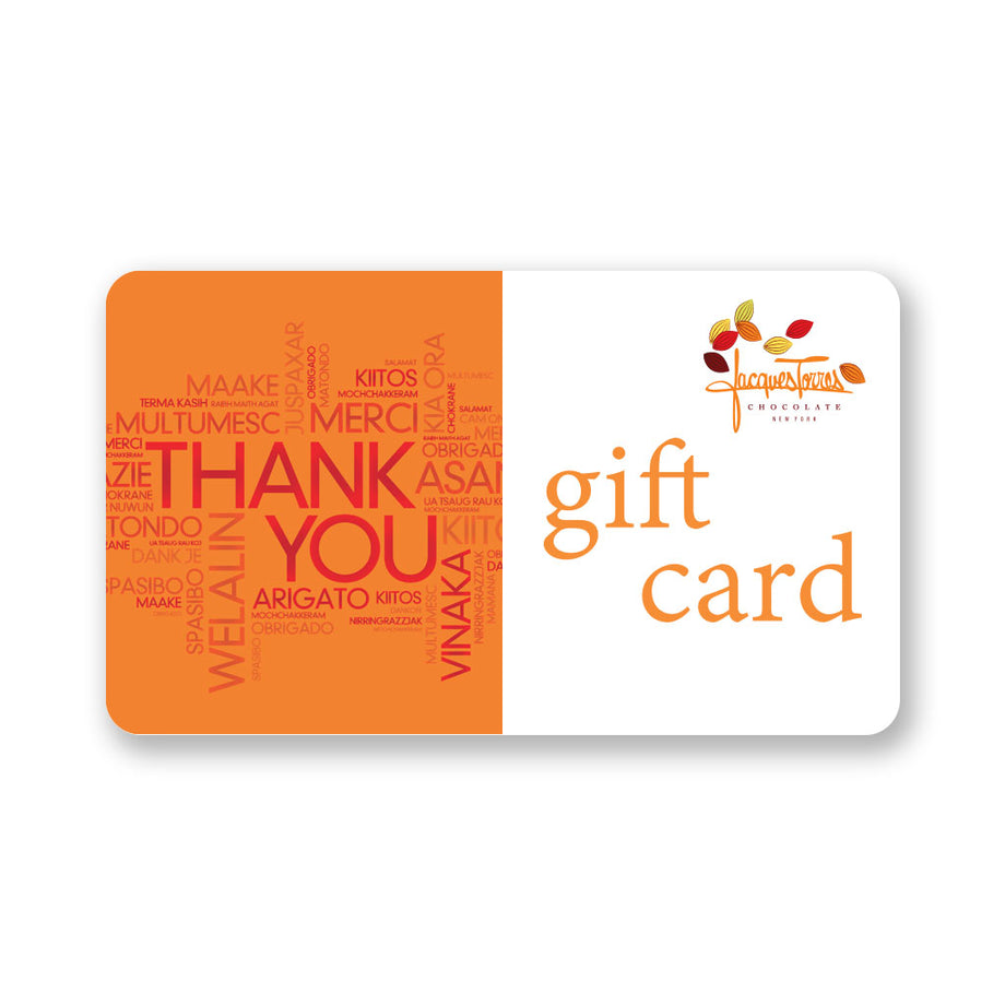 Jacques Torres Chocolate Thank You Gift Card