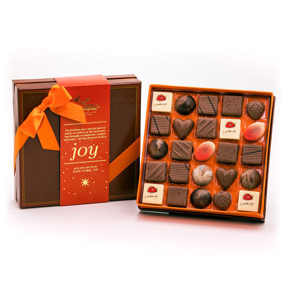 Milk Chocolate Bonbons with Red Joy Sleeve
