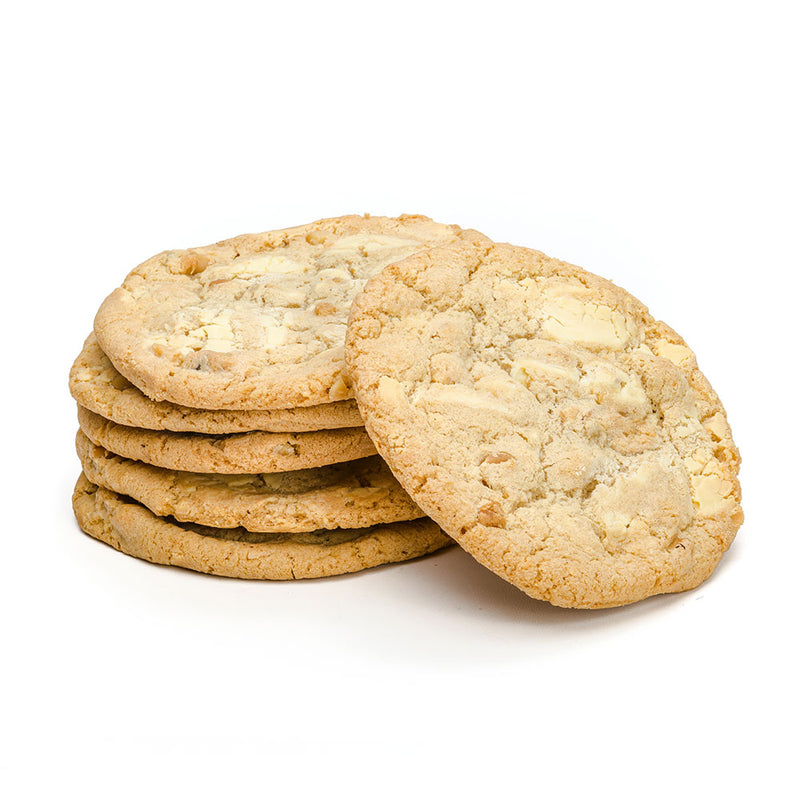 White Chocolate Chip Cookies with Macadamia Nuts by Jacques Torres Chocolate
