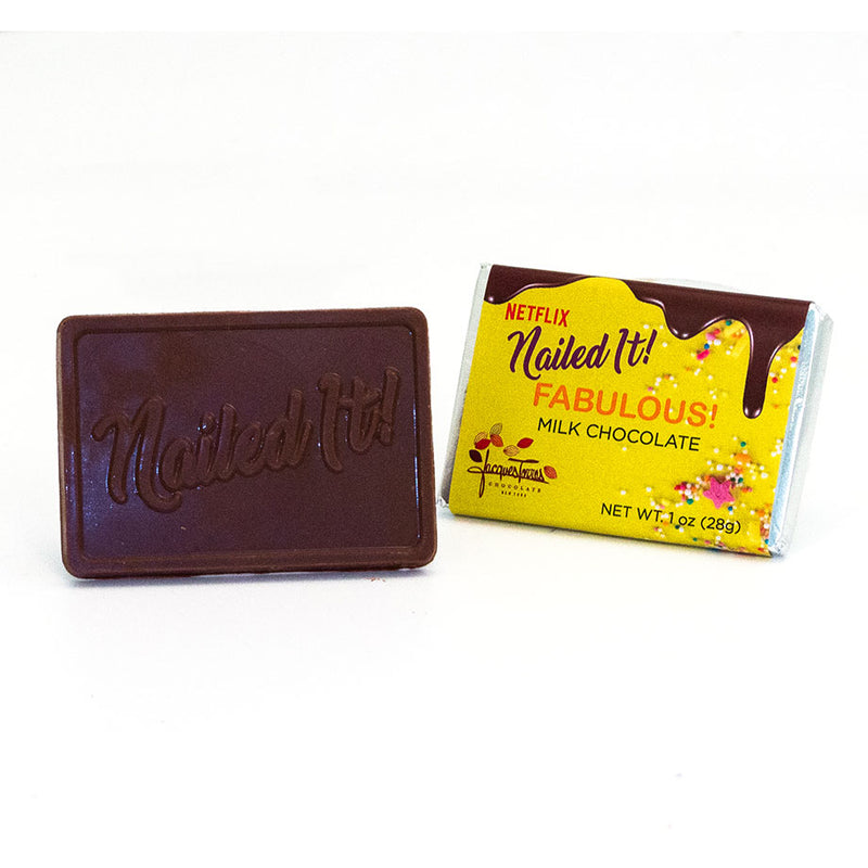 Nailed it! Milk Chocolate 1oz Bar by Jacques Torres