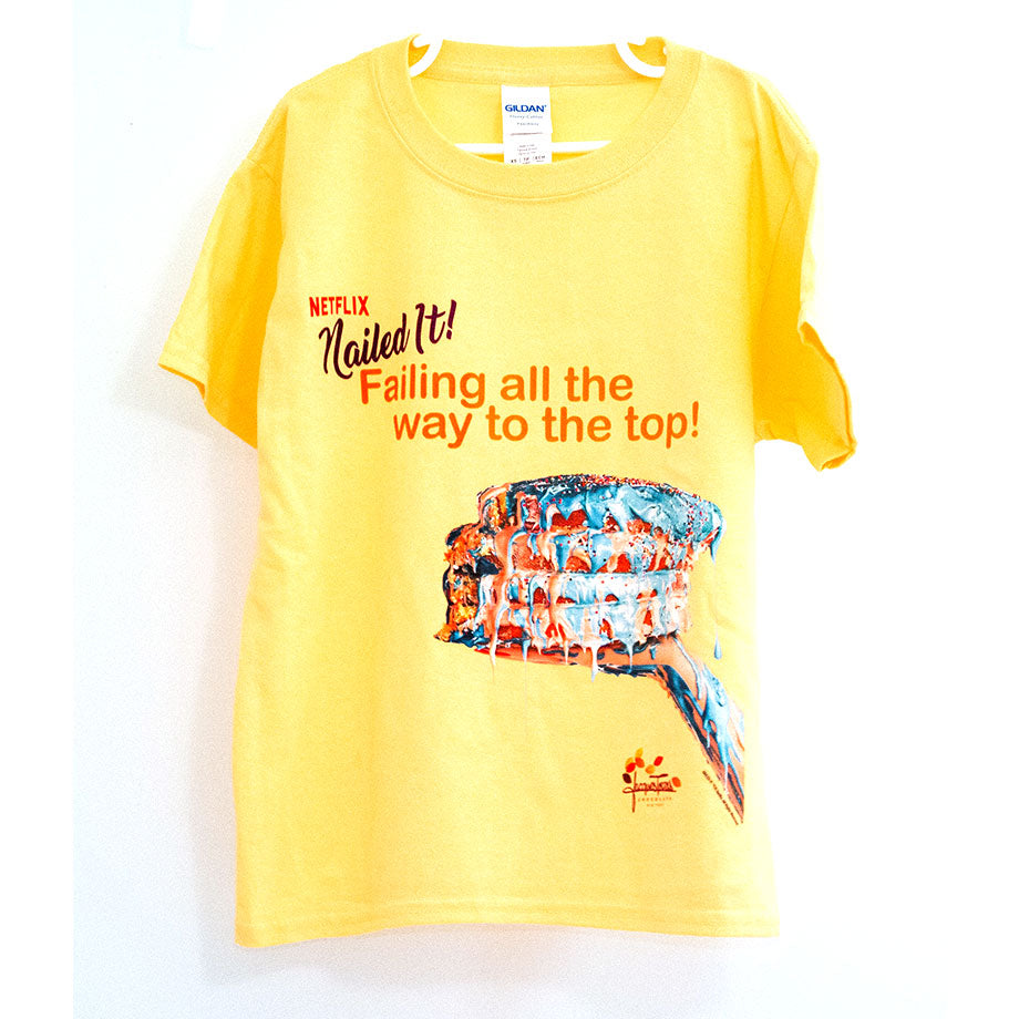 Nailed it! Children's 100% Cotton T-shirts by Jacques Torres