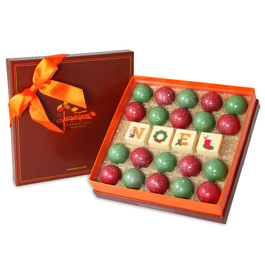 NOEL Christmas Bonbons 24 pc – Jacques Torres Chocolate