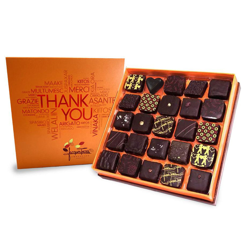 Dark Chocolate with Thank You Sleeve
