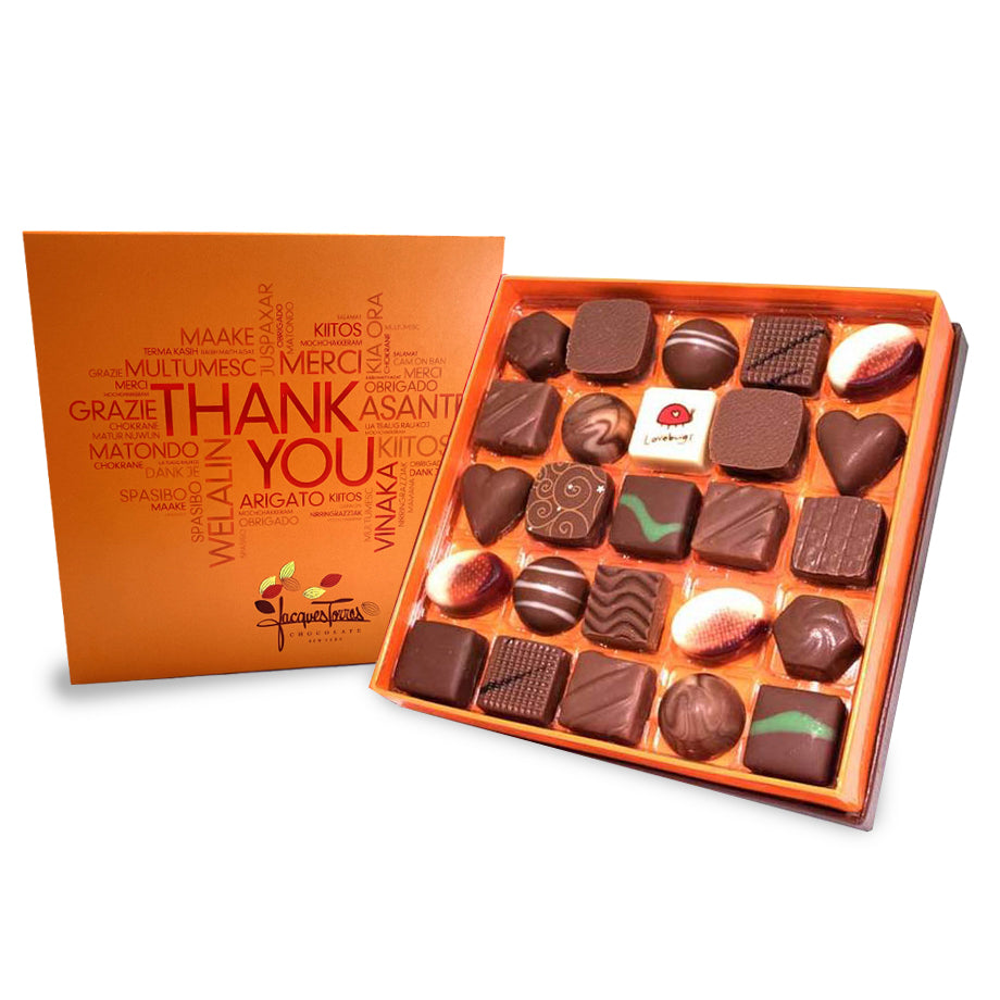 Milk Chocolate with Thank You Sleeve by Jacques Torres