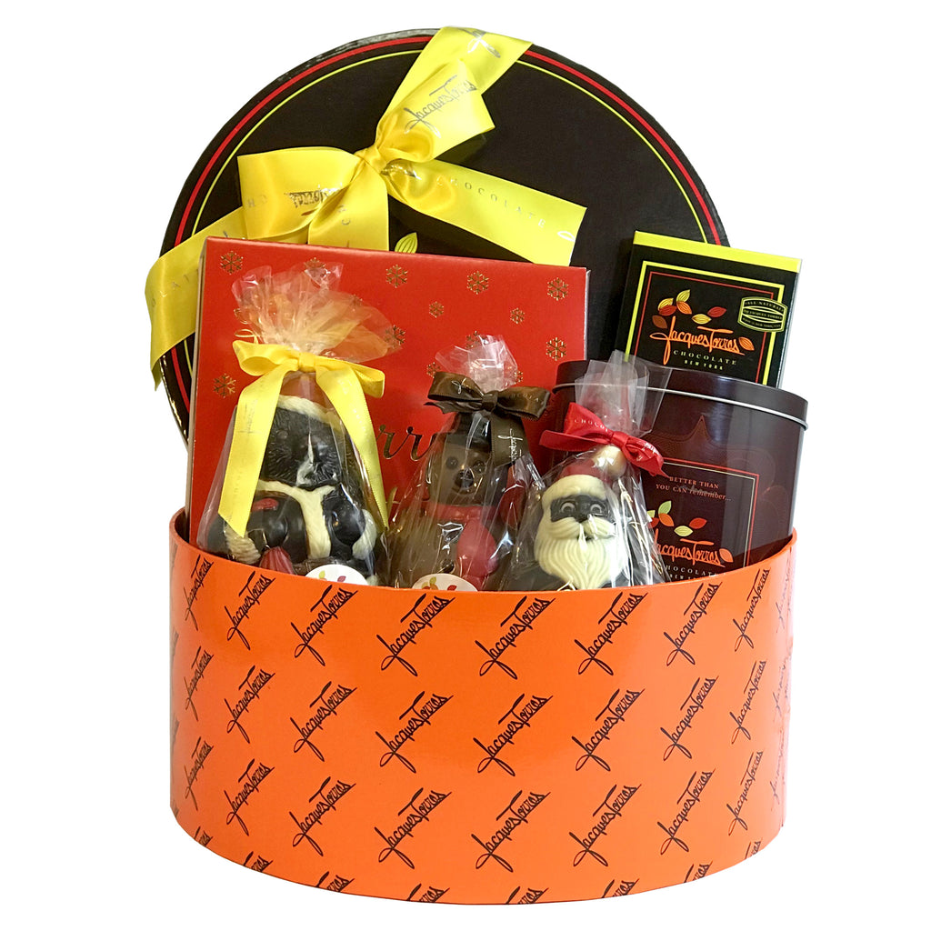 Christmas Sampler Gift Basket by Jacques Torres