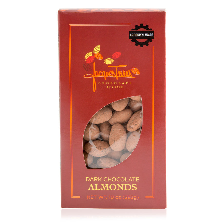 10 oz Dark Chocolate Almonds by Jacques Torres