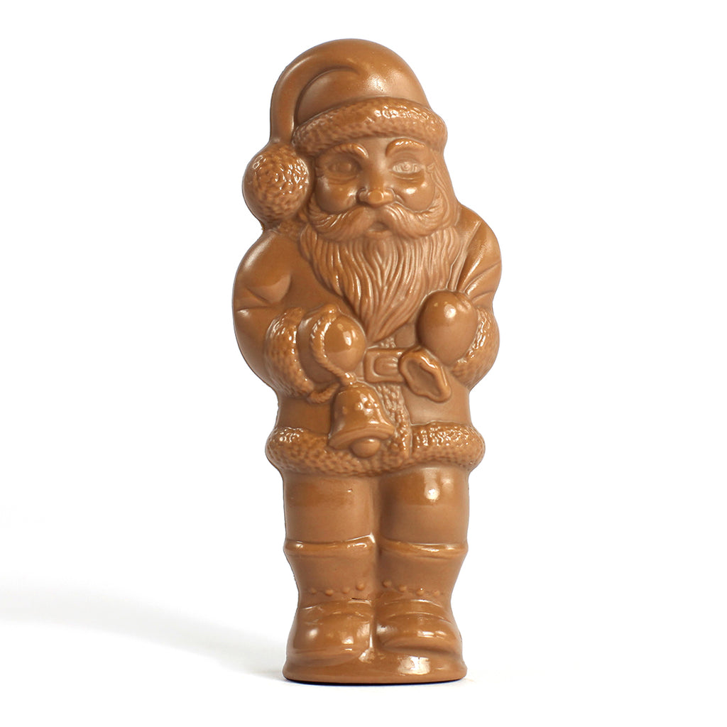Tiny Santa in Milk Chocolate by Jacques Torres