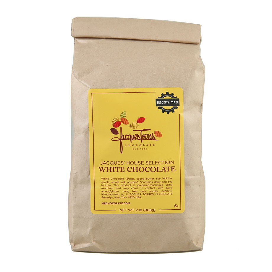White Chocolate Baking Discs by Jacques Torres