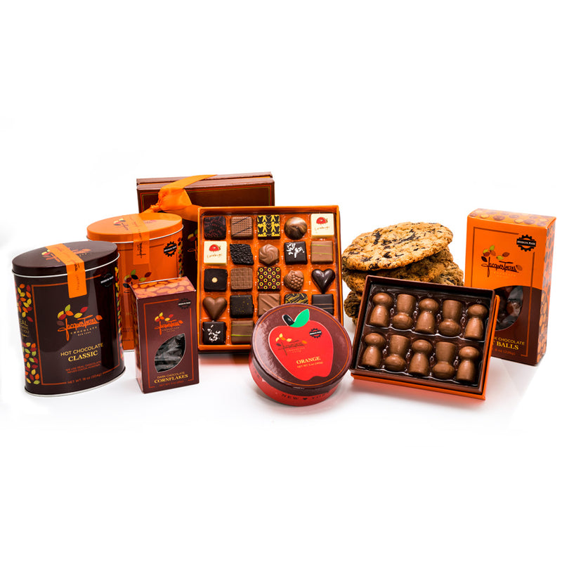 Deluxe Gourmet Chocolate Bundle as seen on the Neflix Show Nailed It! by Jacques Torres