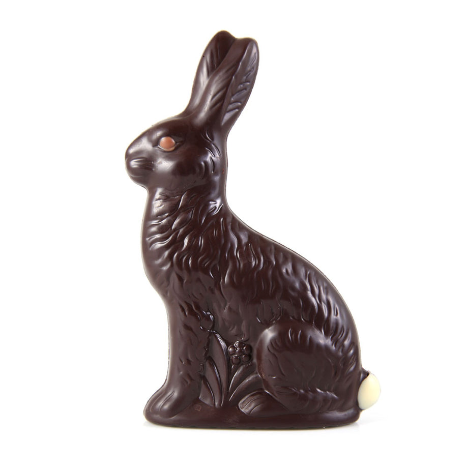 Gourmet Dark Chocolate Sitting Easter Bunny - Large