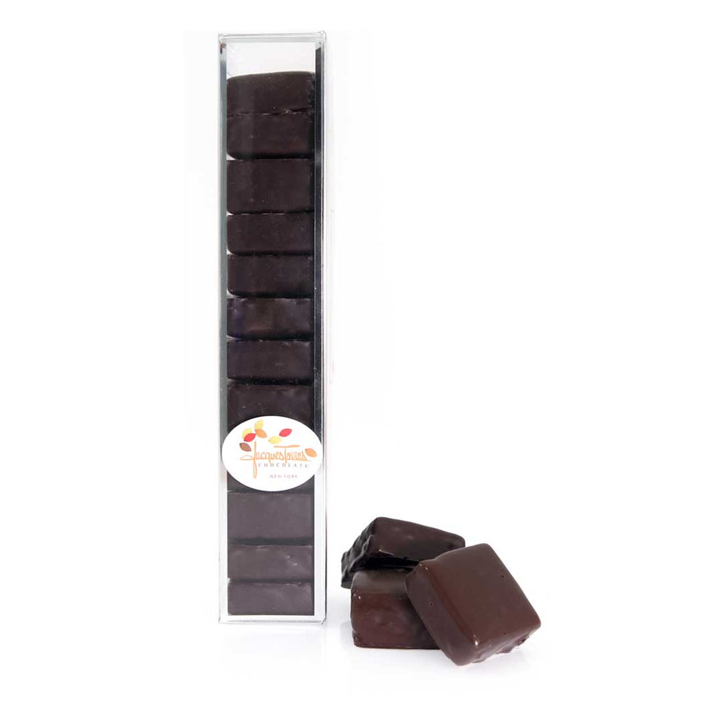 Dark chocolate covered marshmallows by Jacques Torres