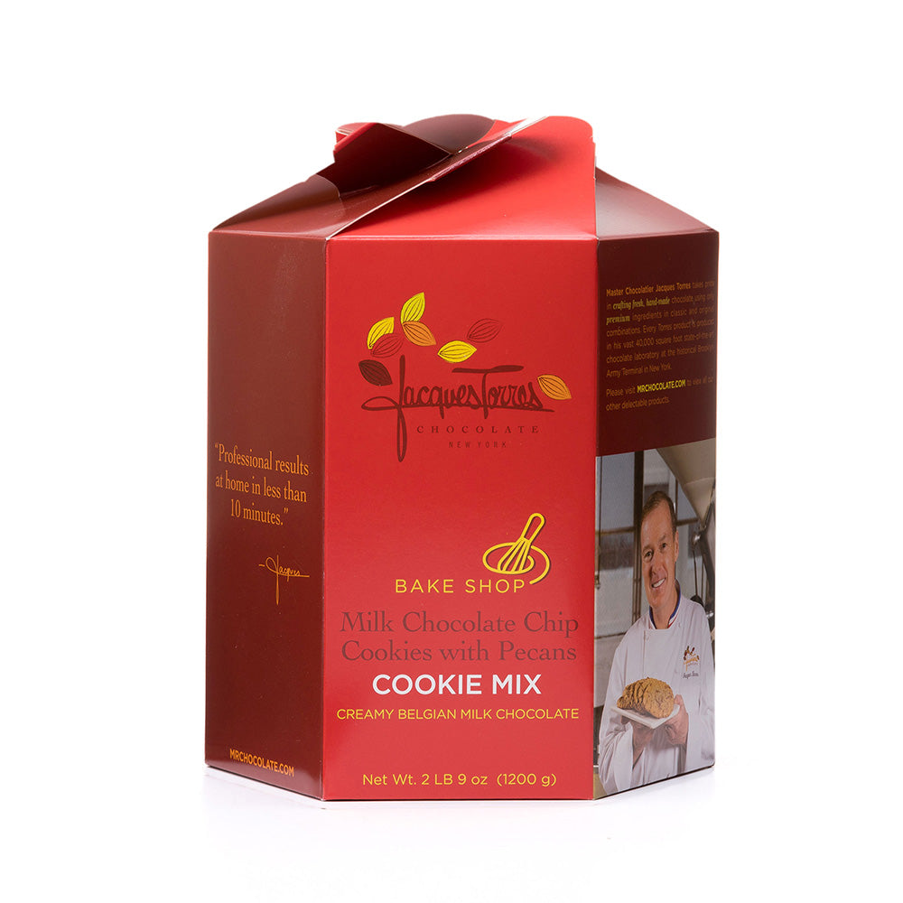 Milk Chocolate Chip Cookie Mix with Pecans