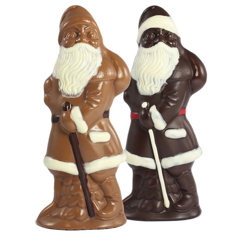 Santa-Tall in milk or dark chocolate by Jacques Torres