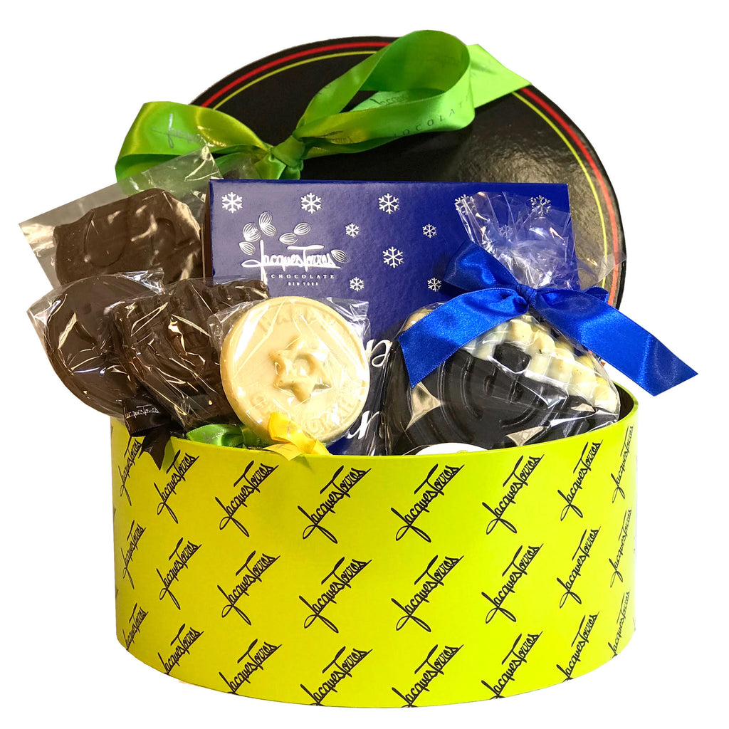 Hanukkah Sampler Gift Basket by Jacques Torres