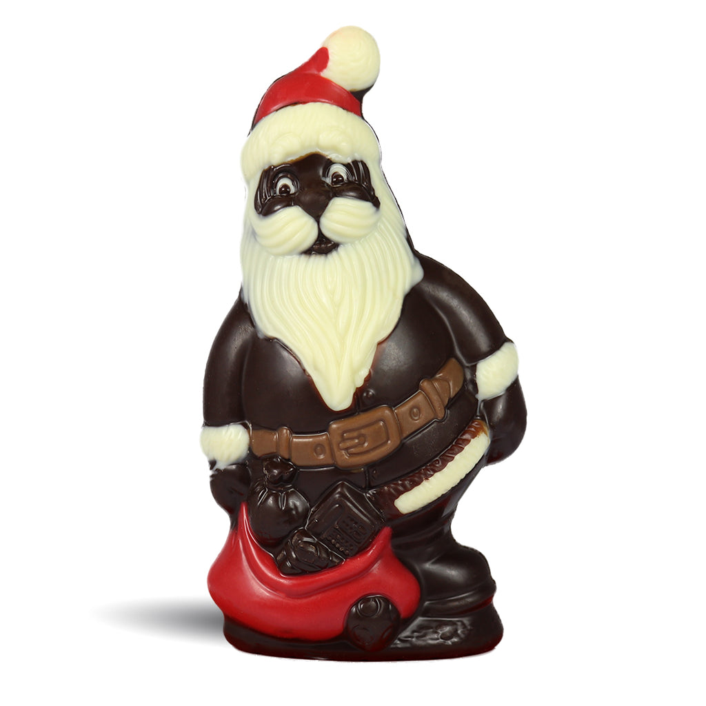 Dark Chocolate Jolly Santa by Jacques Torres