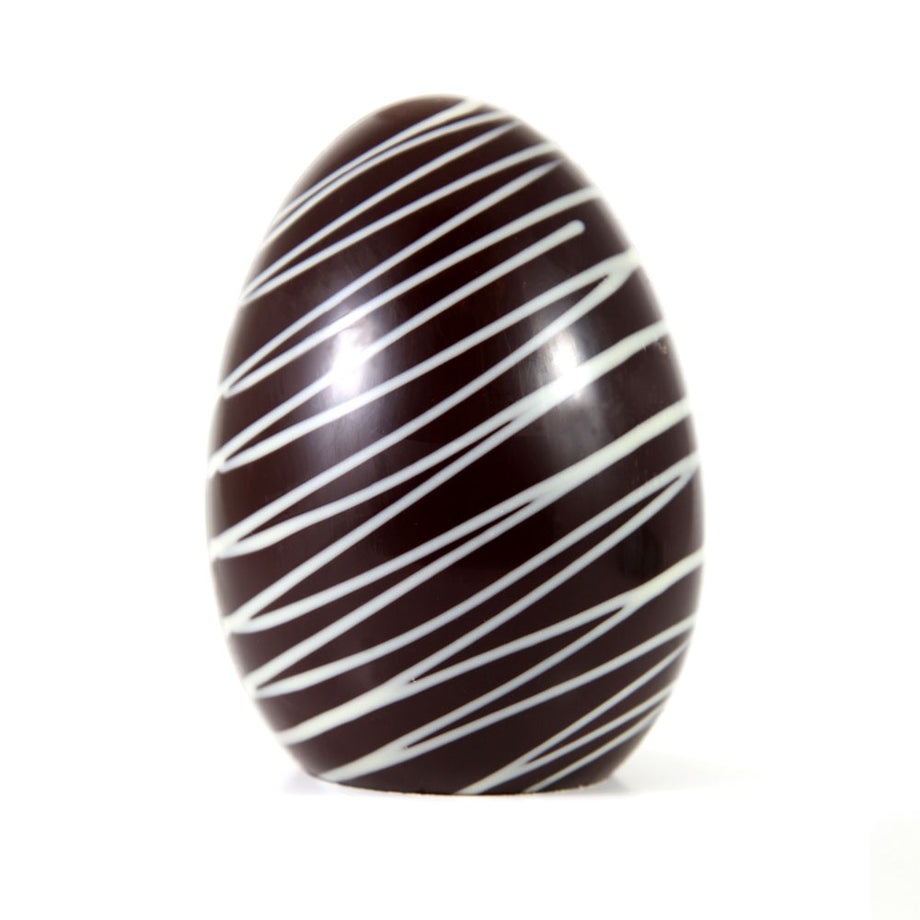 Gourmet Dark Chocolate Classic Easter Egg - Small