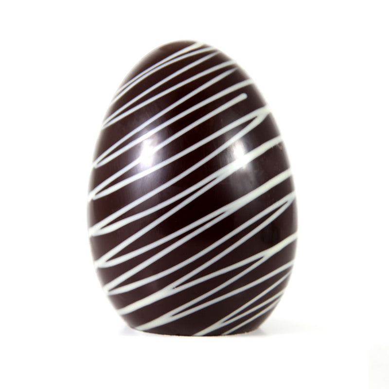 Gourmet Dark Chocolate Classic Easter Egg - Small by Jacques Torres