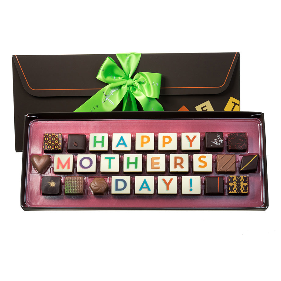 Happy Mother's Day Edible Message by Jacques Torres Chocolate