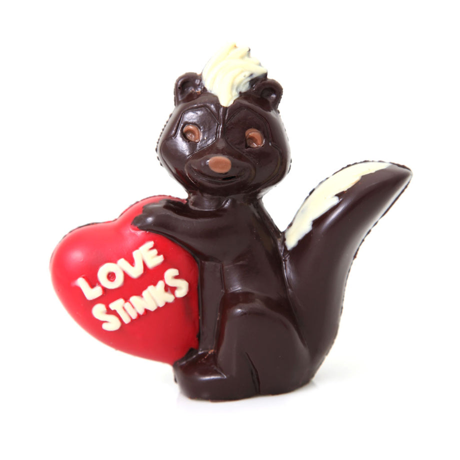 Stinkin Cute Dark Chocolate Skunk by Jacques Torres