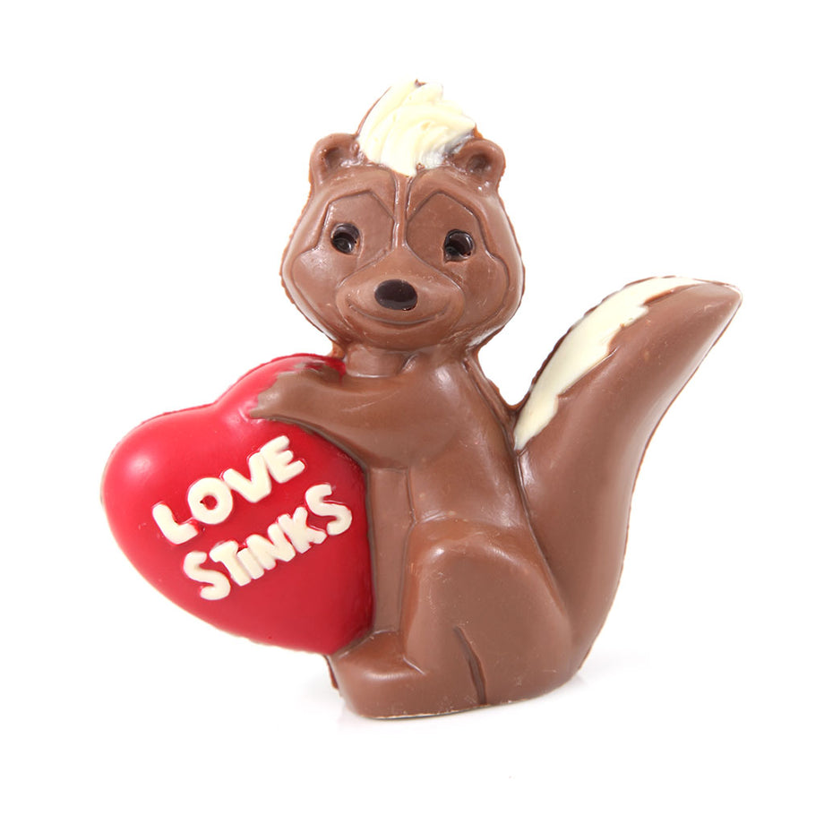 Stinkin Cute Milk Chocolate Skunk by Jacques Torres