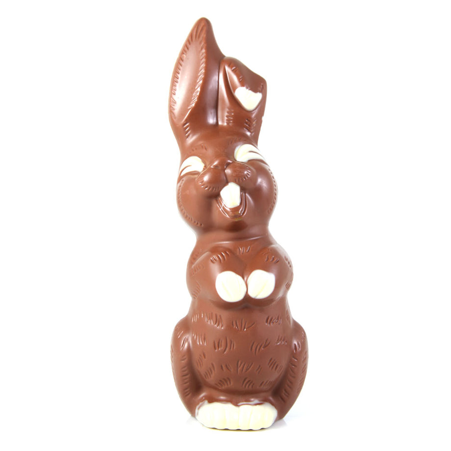 Gourmet Chocolate Smiling Easter Bunny - Milk Chocolate